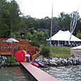 Dock_and_tent_from_lake